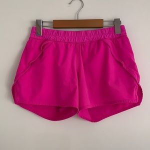 Ivivva (by lululemon) Lined Pink Shorts Sz14G